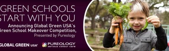 Resolve to be Green in 2013: Your School could win a Green Makeover by Pureology