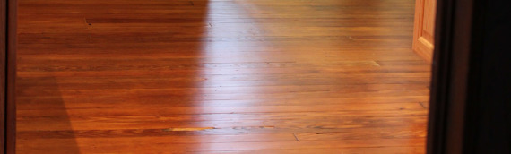 Mudroom Renovation: Hardwood Floors Refinished