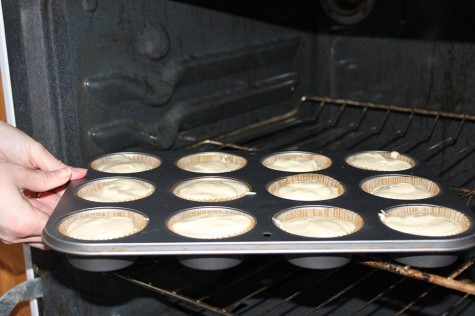 Bake 20 minutes or until centers are almost set. Cool. Refrigerate until cooled completely.
