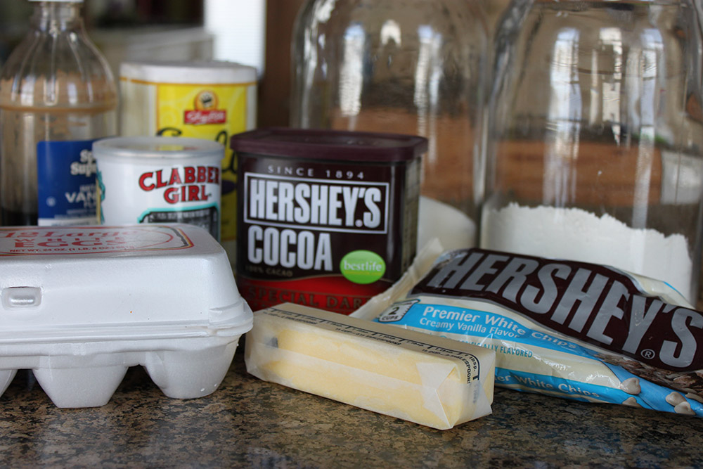 Baking With Hershey S Easy Double Chocolate Fudge