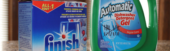 Out of Dishwasher Detergent: Better Value – Liquid or Tabs?