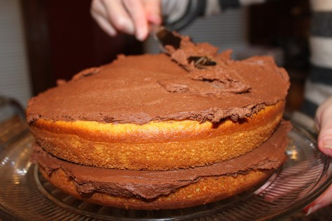 Box Cake Mix Transformed Into Decadant Moist Cake With