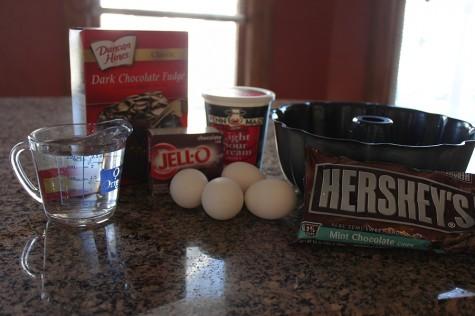 Chocolate Pudding Cake & Chocolate Glaze Recipe