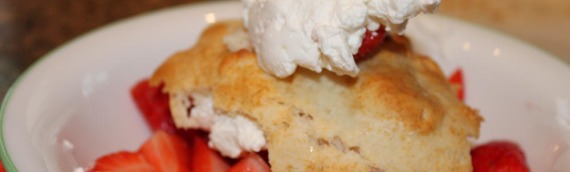 Easy Strawberry Shortcake with Homemade Whipped Cream