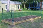 Ways to Keep Animals out of the garden. Protect your vegetable garden by building a simple fence.