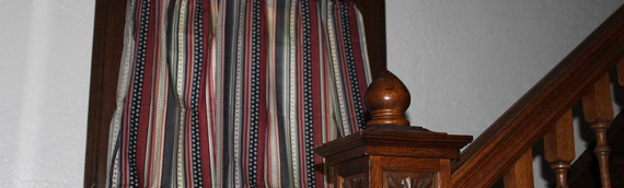 5-Minute No-Sew Curtain