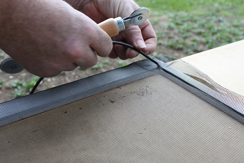 How to Rescreen A Window: Easy DIY Repair for a ripped screen