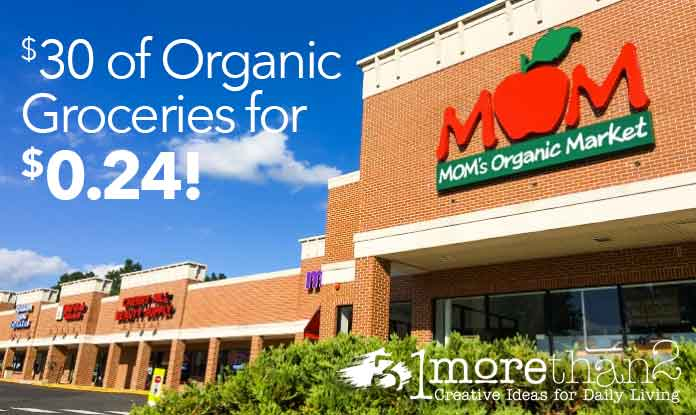 Almost Free Organic Groceries: $30 for $0.24