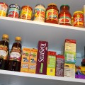 Pantry Makeover with DIY wall shelves